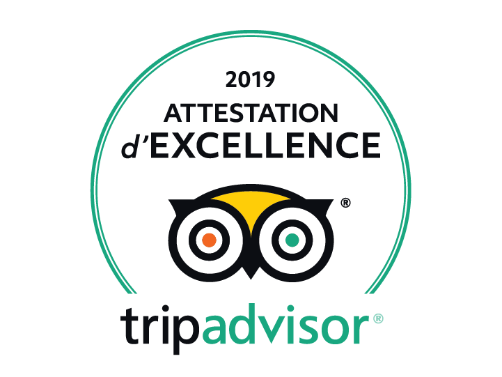 Objectif-Raft - Attestion d'Excellence TripAdvisor